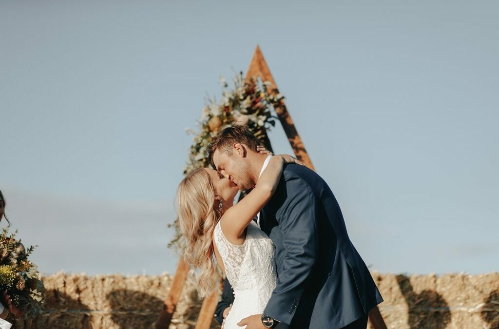 Briony & Lachlan's SA Country Wedding at the Family Farm