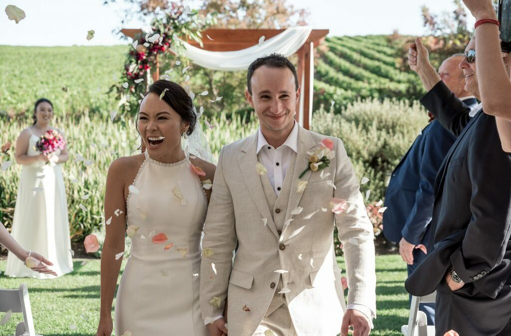 Sommai & Jarin's Adelaide Hills wedding at Golding Wines