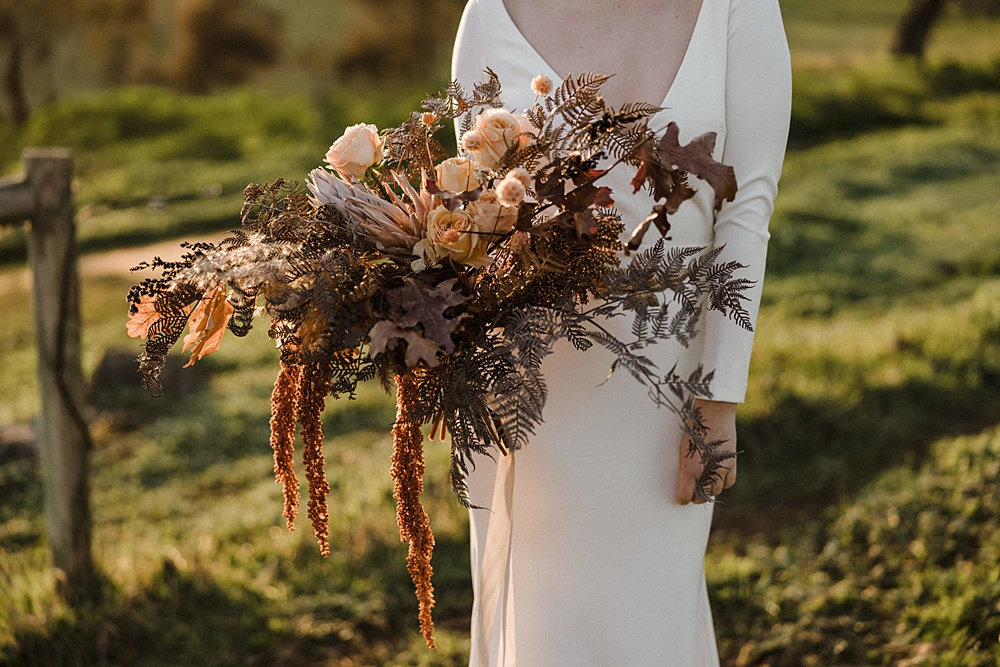 Bride and the Brae – Adelaide Hills Styled Wedding Shoot